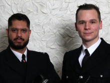 PC Shand Panesar (left) and PC PC Craig Nicholson (right), Hillingdon
