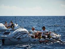 Nu har Team Prosecta under 100 mil kvar sen är Atlanten besegrad