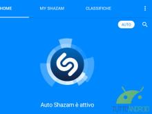 Auto Shazam su Android: il riconoscimento della musica diventa automatico  Approfondisci su www.tuttoandroid.net/aggiornamenti-app/auto-shazam-android-riconoscere-automaticamente-musica-387272/