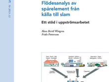 SVU-rapport 2013-12: Flödesanalys av spårelement från källa till slam – Ett stöd i uppströmsarbetet (Avlopp & miljö)