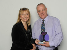 Station Manager Receives Lifesaver Award