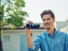 Ta vare på livets fineste øyeblikk i 4K med Sonys nye Handycam® -serie