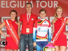 Emma Johansson i ledningen på Lotto Belgium Tour
