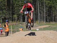 Favoriterna höll i dagens SM i Mountainbike XCE
