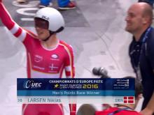 Suveræn: EM GULD til Niklas Larsen