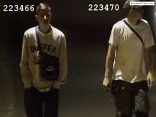 Image of two men police wish to identify - ref: 223466 and 223470