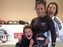 Unstoppable Girl....BJJ White Belt,  Accountant and Mother of 4 Marianette Violeta