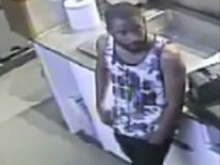 CCTV still of the man sought re: burglary in Stepney