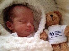 Dad organises auction to thank charity for help when son was sick in hospital
