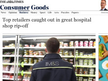 Response: 'Shops accused of exploiting vulnerable patients in hospitals'
