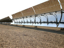 Solar Thermal Energy - parabolic troughs