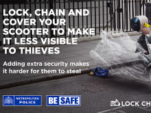 Bike owners urged to 'lock, chain, cover'