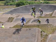 Ny arena invigs med SM i BMX racing