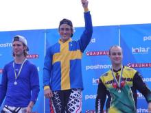 Filip Svanberg, Guldmedaljör, Filip Gustafsson silver och Henrik Thorsen, brons
