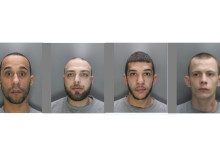 Four men jailed for agg burglary, Herts