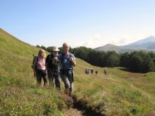 Walking through the foothills of the Garfagnana Valley
