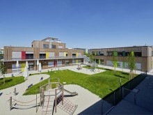 Official opening of Primary School at Baierbrunner Straße in Munich