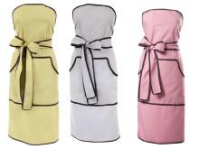 Trendiga färger på festfina förkläden