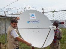 Satellite communications, an alternative for the Haitian population after Hurricane Matthew