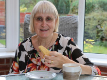 ​Stockport stroke survivor encourages budding bakers to Give a Hand and Bake