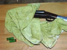 Firearm found at address