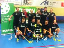 Festarrangörerna vann Sweden Floorball Cup i Borlänge