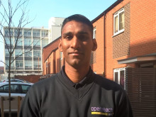 Leicester apprentice joins BT on the front line