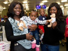 Families attend CIBC Miracle Day