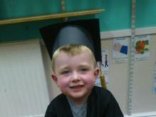 Flynn gets ready to start school this September