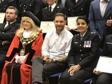 Richmond commendation ceremony