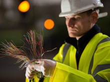 Openreach fibre engineer