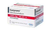 Pressbild Gazyvaro, förpackning 100 mg