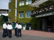 Image of officers at Wimbledon