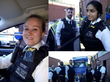 Body worn video being worn by Hounslow officers