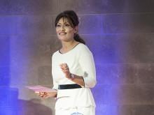 Azita Shariati talar på EAT Stockholm Food Forum