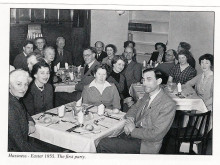 Diners in Hassness House