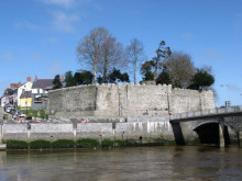 Superfast Cymru connecting 900-year old Cardigan Castle with the high-tech world