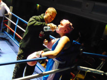 Mum raises hundreds of pounds in charity boxing match