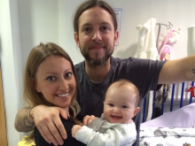 Without The Sick Children's Trust we honestly don't think we'd have had the energy to nurse Eliza back to full health