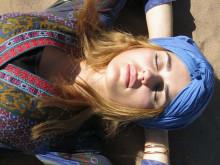 Yoga in der unendlichen Wüste Marokko's