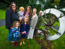 Wishing tree unveiled in memory of Councillor Ann Metcalfe