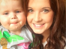 Fighter Tot Georgie Raises £500 For Charity That Kept Parents By His Side