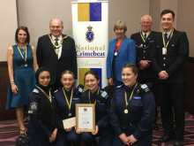 Cadets win National Crimebeat Awards