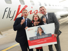 London Luton Airport celebrates its first kiss