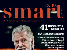Nytt nummer av Smart Seniors medlemstidning Extra Smart