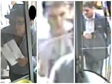 Image to trace men following theft