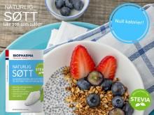 Biopharma Naturlig Søtt - energifritt alternativ til sukker