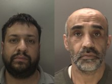 Two men jailed following large drugs bust