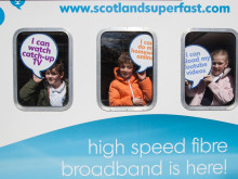 Milngavie pupils get a lesson with fibre broadband