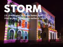 Storm – en ny, visuell fasadshow helt uppåt väggarna